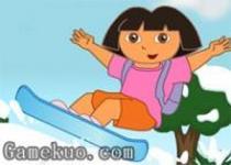 Dora去滑雪
