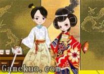日本皇室夫婦換裝
