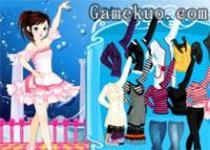 芭蕾舞女孩裝扮