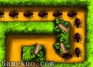 植物大戰昆蟲