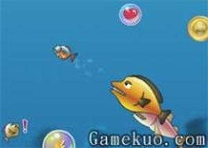 小魚海底生存