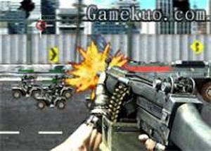 保衛基地車槍戰