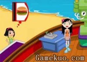 經營海灘快餐店