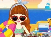 阿sue海邊度假