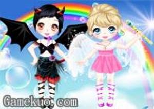 可愛天使與魔鬼