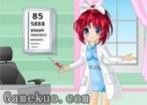 可愛小護士換裝