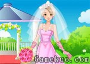 優雅的新娘換裝