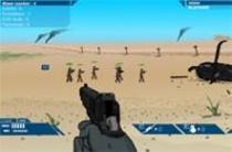 直昇機防衛槍戰