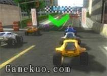 狂暴四驅車3D賽車