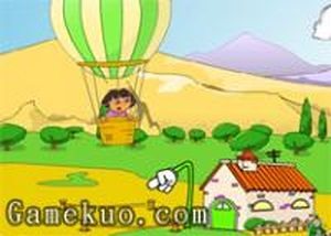 dora熱氣球快遞