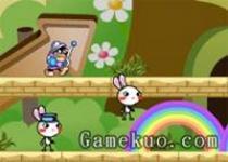 彩虹兔雙人無敵版