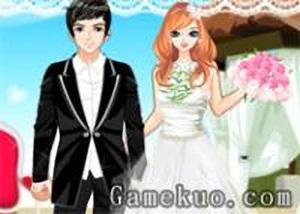 甜蜜的婚禮換裝
