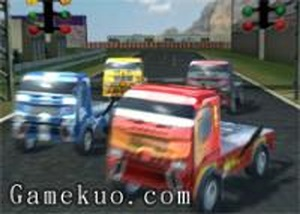 3D大卡車賽車