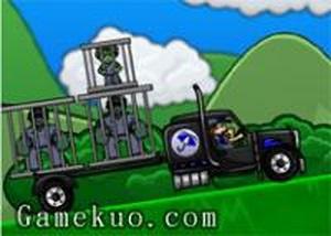 大卡車運送殭屍