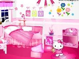 Hello Kitty 的臥房