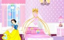 迪斯尼公主房間
