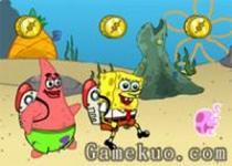 海綿寶寶潛水
