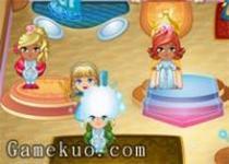 巫女經營美容店