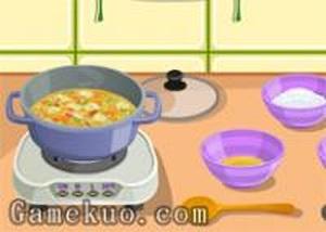 製作蔬菜湯