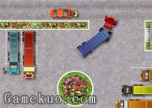 大卡車停車2