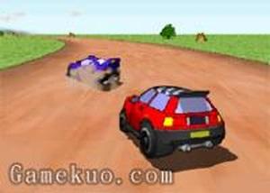 3D彎道漂移賽車