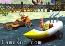海綿寶寶卡通明星賽車