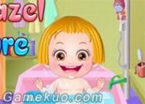 可愛寶貝洗頭髮