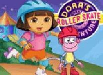 Dora溜冰