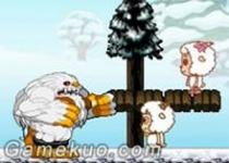 喜羊羊兄妹雙人雪球