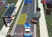 3D警車緊急停靠