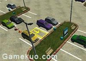 3D停車場停車