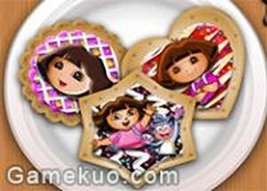 dora餅乾裝飾