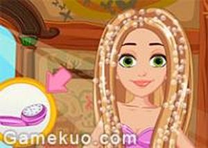 長髮女生美髮造型