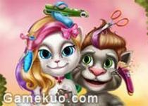 湯姆貓和安吉拉美髮