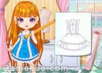 DIY製作連衣裙