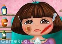 朵拉的臉部手術