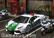 3D停車場警車版