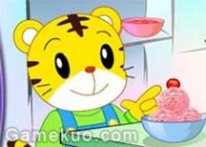 巧虎吃冰淇淋