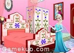 冰雪女王佈置房間