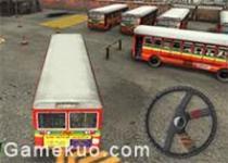 3D大巴士停車場