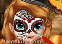 蘇菲亞臉部彩繪
