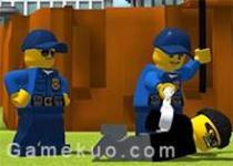 樂高警察抓小偷