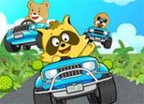 浣熊卡丁車