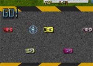 滑鼠競速賽車