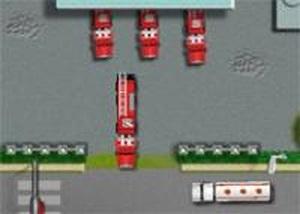 消防車滅火