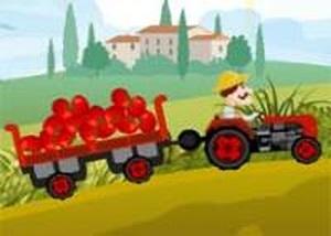 農場卡車運蔬菜