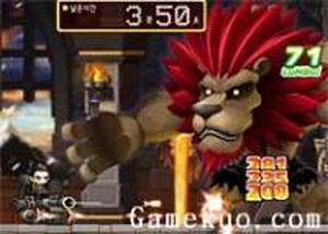 冒險島機器人大戰獅子怪
