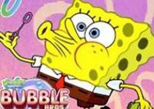 海綿寶寶吹泡泡