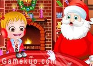 可愛寶貝聖誕夢想