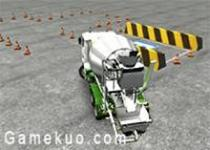 3D水泥卡車停靠